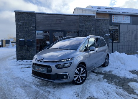 citroen grand c4 picasso 1 6 bluehdi 116 shine garantie 05 2020 autoselux garage. Black Bedroom Furniture Sets. Home Design Ideas